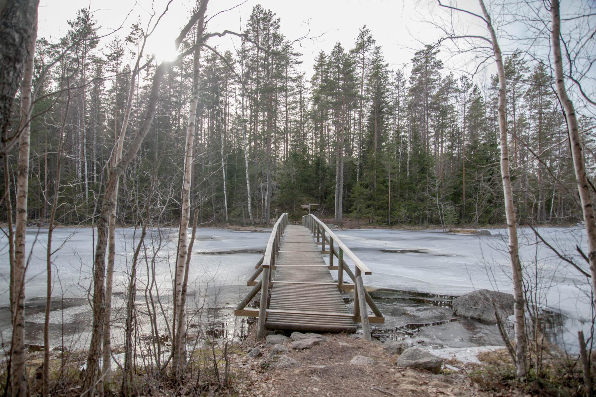 Kannuslahti Isojärvi Kannussalmi silta