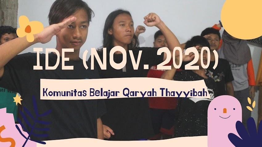 Ide November 2020: Emang Enak Sekolah Online?