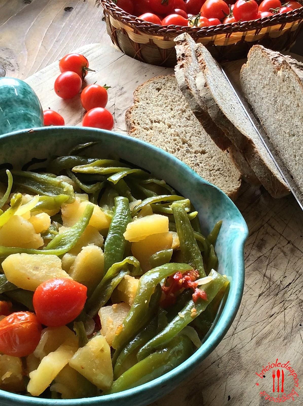 friarelli patate e pomodorini