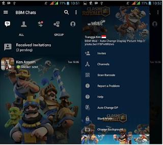 BBM MOD Clash Royale v3.3.1.24 Apk Background