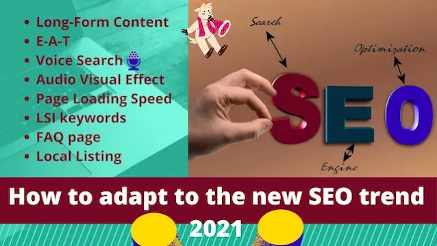 Adapt with new SEO Trend 2021