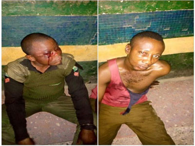 2 policemen beaten ondo arrest politician