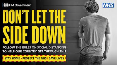 Follow social Distancing UK Govt