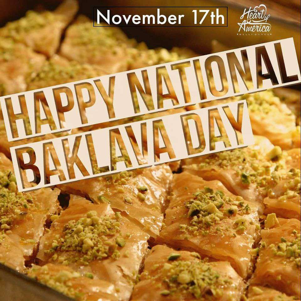National Baklava Day Wishes Sweet Images
