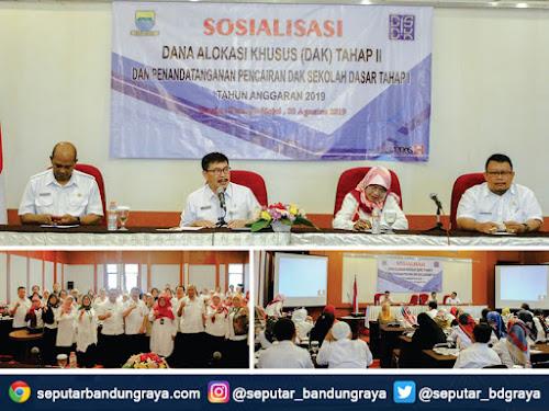 Sosialisasi DAK 2019 Disdik Kota Bandung