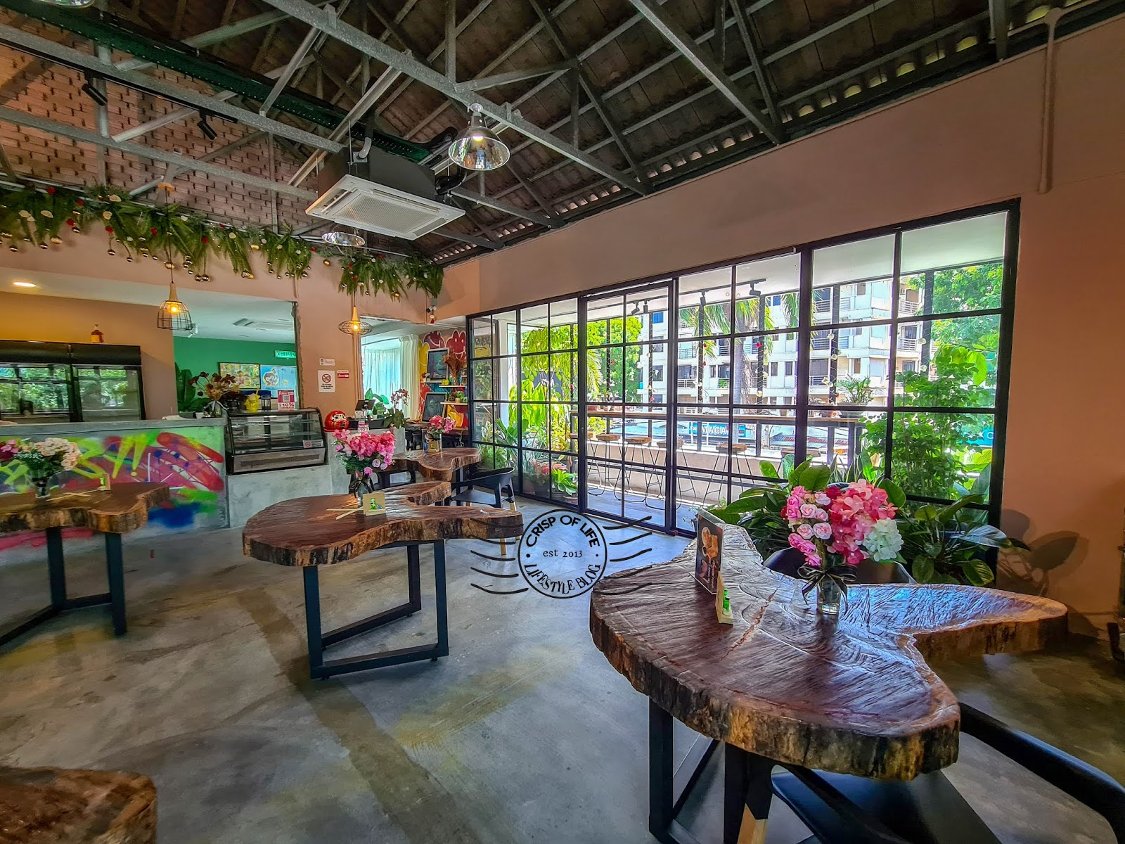 Hidden Beautiful Nature Themed Cafe - The Busy Monet @ Vantage Point, Jelutong, Penang