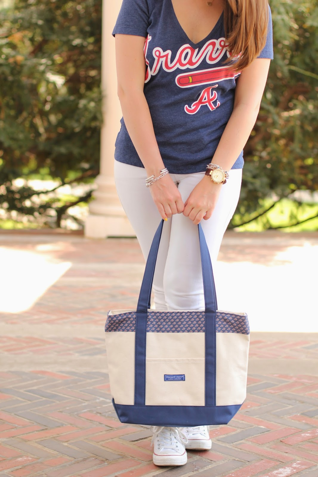 braves tote, cute braves clothing, braves tote bag