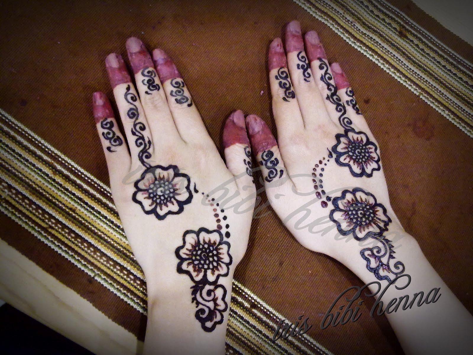 Koleksi Inai Yang Cantik Sayang Dilewatkan Teknik Menggambar Henna