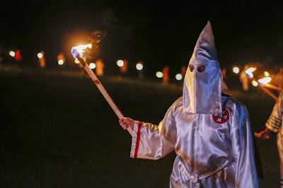 A Klansman...