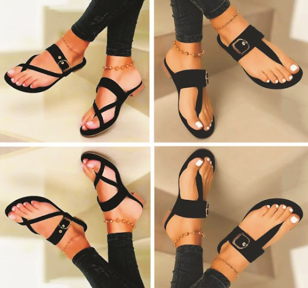 Ladies Easy-Wear Comfy Slippers: Casual Classy-Styled Suede Flat Sandals for Naija Women