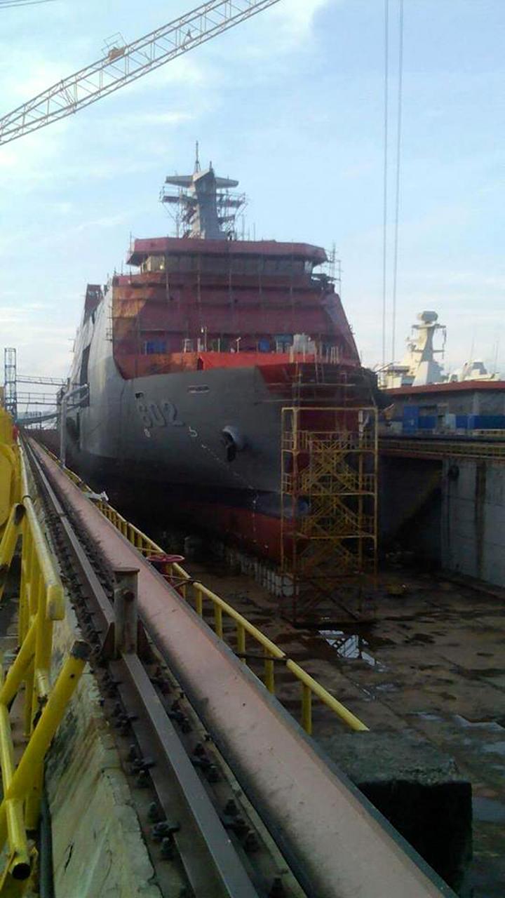 (SSV) BRP Davao Del Sur (602) produksi PT PAL