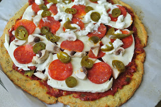Recette de pizza à faible teneur en glucides