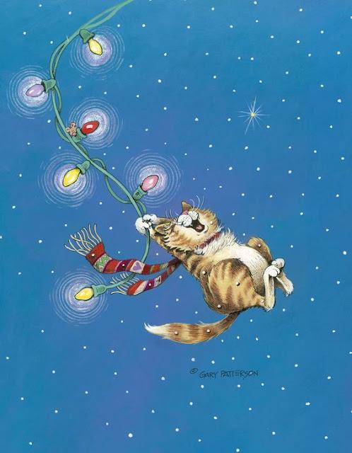 navidad-gatuna-ilustrada