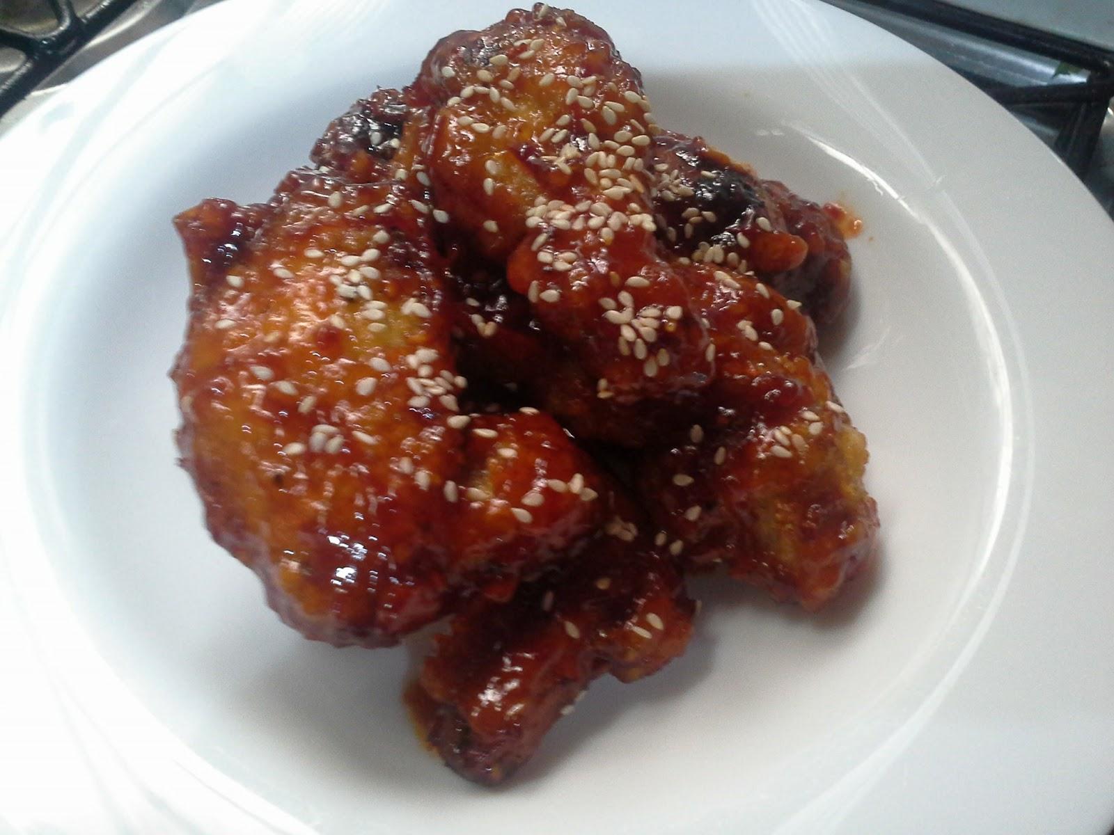 Tertunailah Hasrat Di Hati Resepi Ayam Goreng Korea