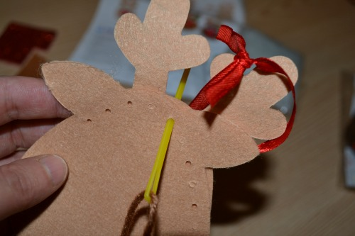 Home made Christmas decorations for kids