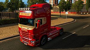 Van De Ridder skin for RJL truck
