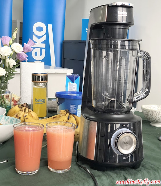 Cooking & Eating Healthy Meals Made Easy with Beko Malaysia, Beko Malaysia, Eating Healthy, Cooking Healthy, Cooking, Beko, Home appliances, Healthy Recipe, Home Cooking Recipe, frozen yogurt bites, lemon & thyme roasted chicken, smoothies, mushroom soup, garlic bread