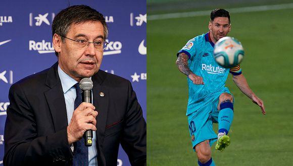 Calma las aguas: Josep Bartomeu afirma que Leo Messi desea continuar en el Barcelona
