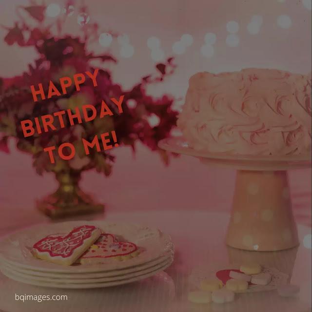 happy birthday to me images cake