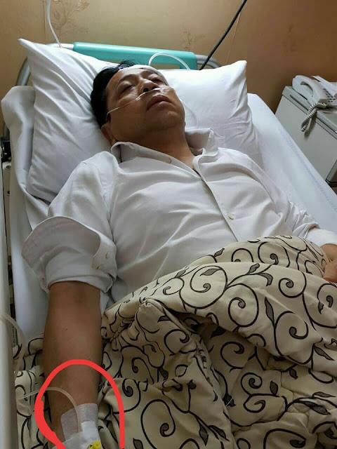 Dengan Santun Dokter Ini Ungkap Kekeliruan Pemasangan Infus Novanto