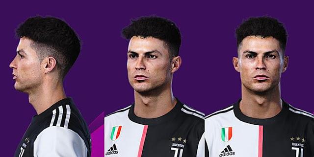 Pes 2020 Face Cristiano Ronaldo