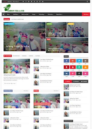 Sahaba bd News – News paper Magazine Template blogger