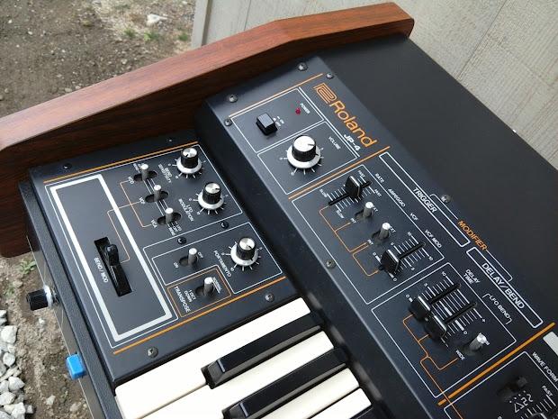 Matrixsynth Roland Jupiter 4 Jp 4 Polyphonic Synthesizer