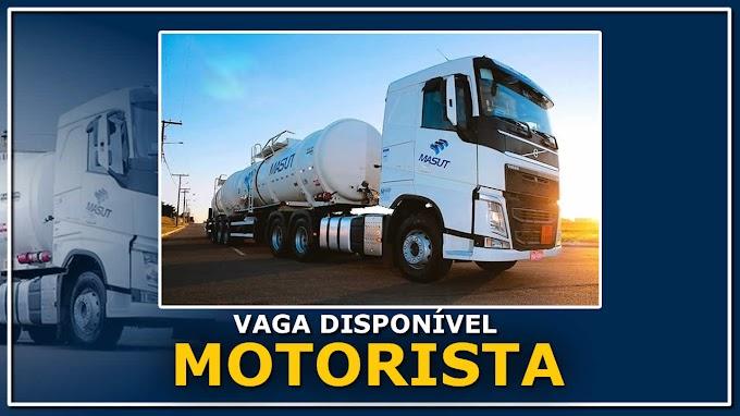 Transportadora Masut abre vagas para Motorista em 8 Estados
