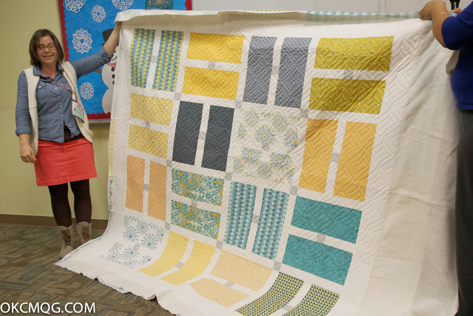 Okc Modern Quilters Meeting Wrap Up February 2015