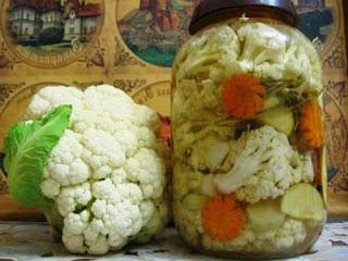 заморозить свежую цветную капусту