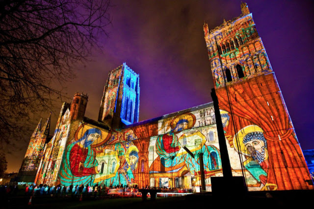 Lễ hội ánh sáng ở London, Anh