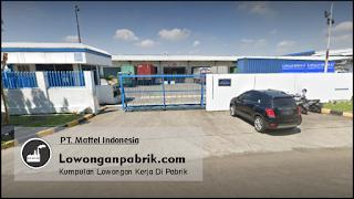 Lowongan Kerja Terbaru PT Mattel Indonesia