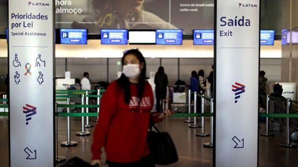 Brasil permite el arribo de extranjeros que lleguen por avión