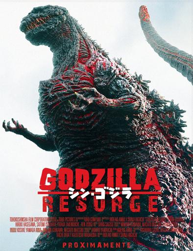 Ver Godzilla resurge (Shin Gojira) (2016) Online
