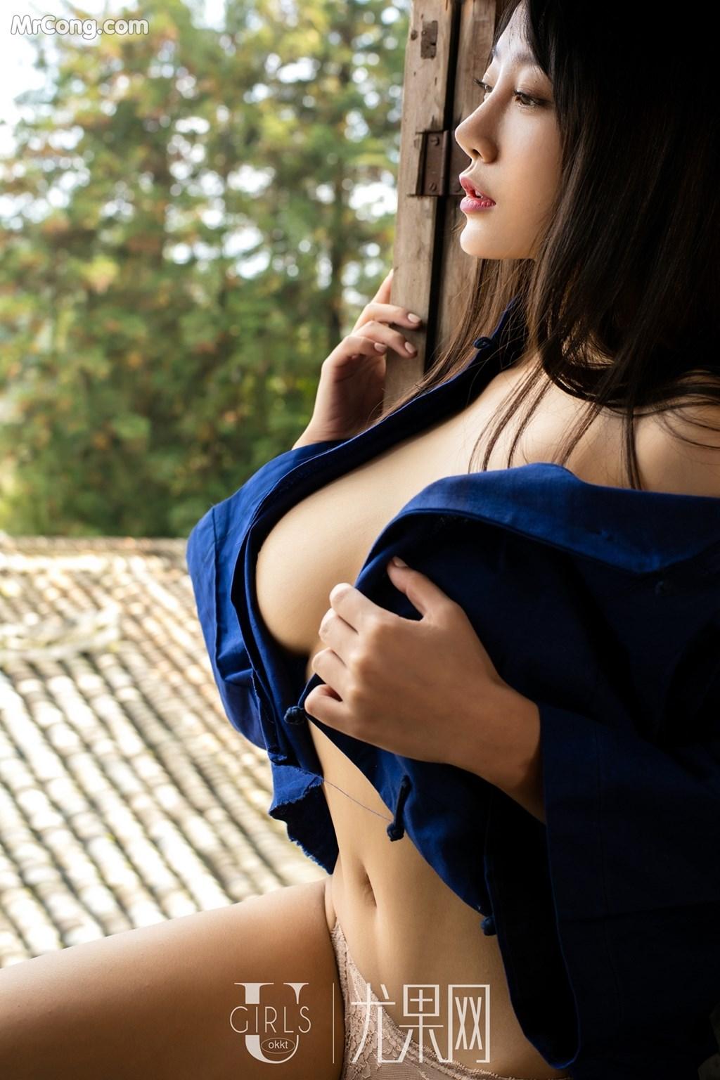 Image UGIRLS-U318-He-Jia-Ying-MrCong.com-021 in post UGIRLS U318: Người mẫu He Jia Ying (何嘉颖) (66 ảnh)