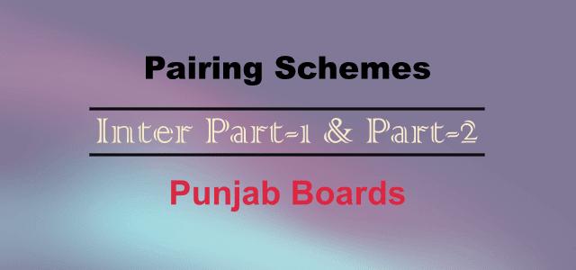 Inter Part-I & Part-II Pairing Schemes