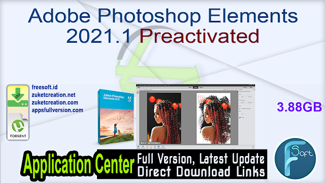 Adobe Photoshop Elements 2021.1 Preactivated