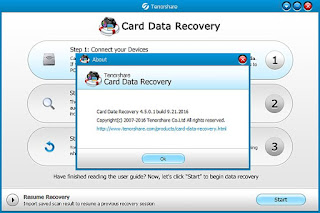 Tenorshare Card Data Recovery 4.5.0.1 Build 9.21.2016 Full Crack + Portable
