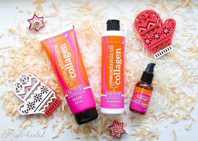 Уход для волос Macadamia Oil+Collagen от итальянской марки BIOELIXIRE