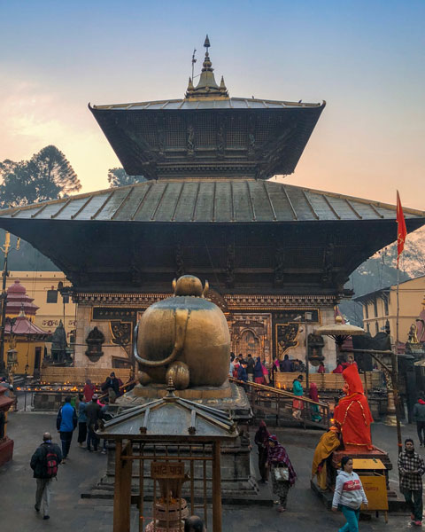 Pashupatinath Temple photo Kathmandu Nepal