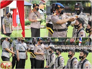 Resmi Dibuka Pembentukan Bintara Polri TA 2020 2021 Purwokerto Oleh Kapolda Jateng