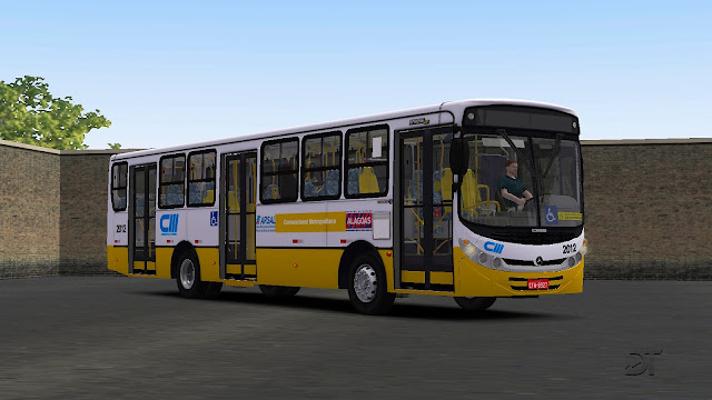 OMSI 2 - Pintura da CM Transportes para o Caio Apache VIP II MB OF-1721 BT5