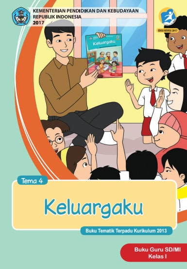 Buku Guru Kelas 1 Tema 4 Revisi 2017, 2018-2019 Kurikulum 2013