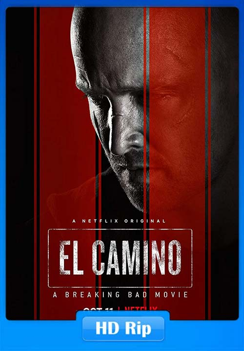 El Camino A Breaking Bad Movie 2019 720p NF WEB-DL x264 | 480p 300MB | 100MB HEVC Poster