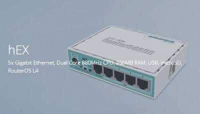 5. hEX (RB750Gr3)