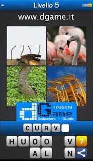 PACCHETTO 5 Soluzioni Trova la Parola - Foto Quiz con Immagini e Parole soluzione livello 5