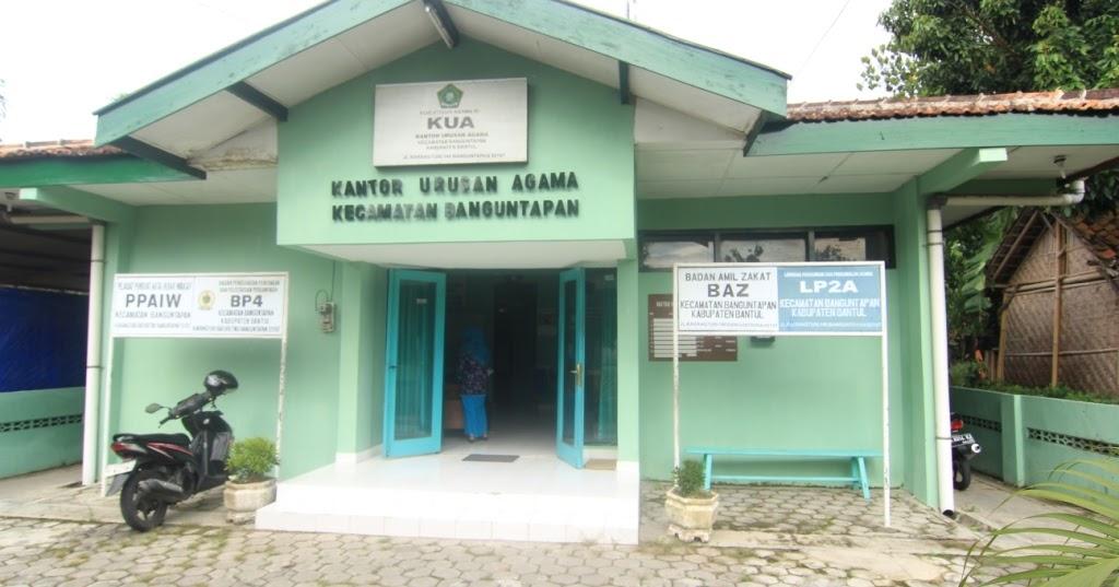 Kantor KUA ~ Kecamatan Banguntapan