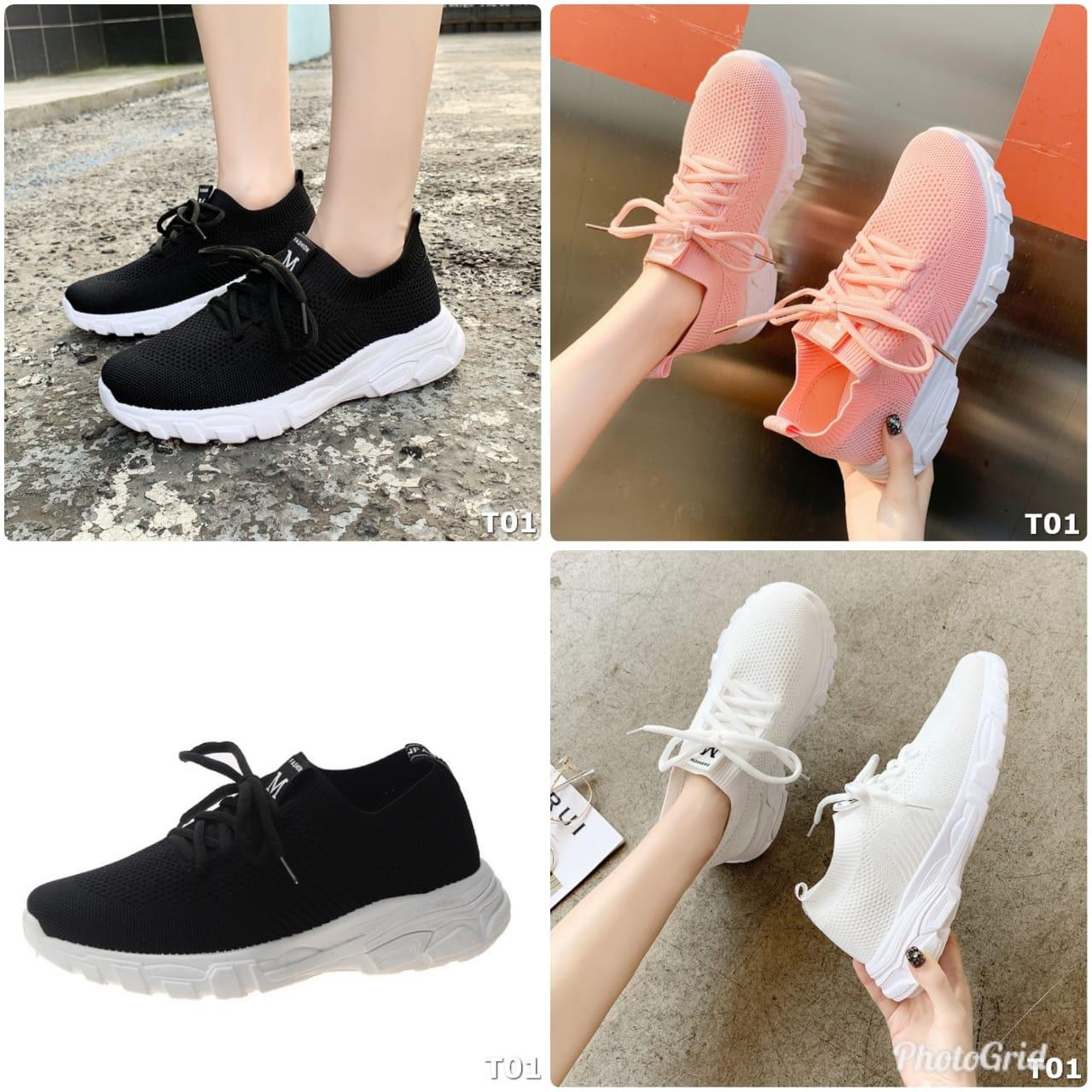 Kode GI 012 : Gloria Flyknit Sneaker Shoes T01 - PSB 9