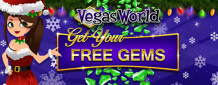 Free Gems - Vegas World
