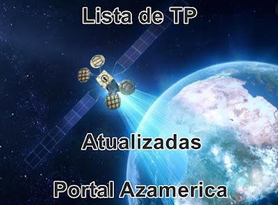 Lista de TPs Atualizadas para apontamento dos principais satélites Banda KU